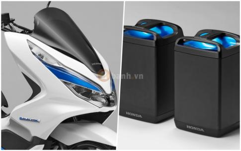 Cận cảnh Honda PCX Electric 2018 vừa được Honda giới thiệu