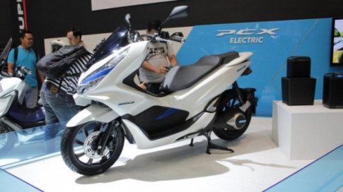 Cận cảnh PCX Electric 2018 vừa chính thức ra mắt thị trường Đông Nam Á