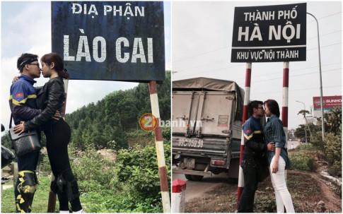 Cặp đôi ' Phượt thủ ' Sài Gòn