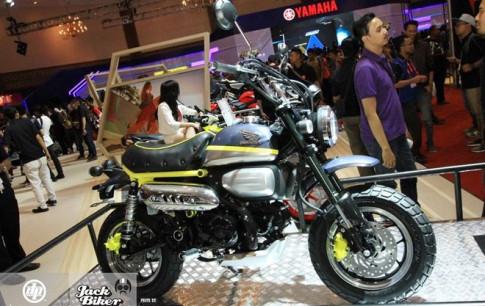 Concept Honda Monkey 125 vừa được Honda trình làng