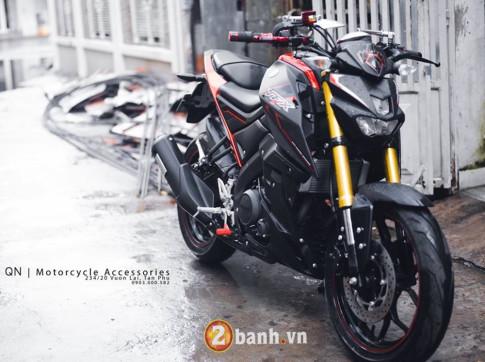 Cực đẹp với Yamaha TFX khoe dáng trong mưa!