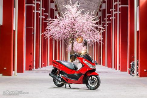 Honda PCX 150 đậm chất xa hoa với phiên bản Racing