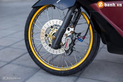 Honda PCX 150 độ ấn tượng với đôi chân siêu mỏng của biker nước bạn