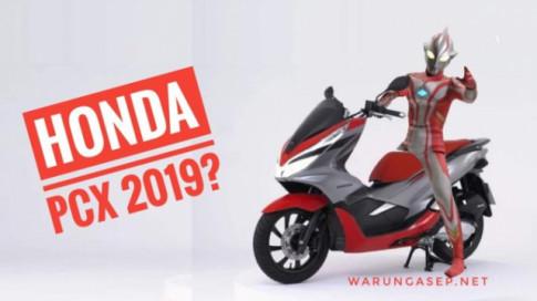 Honda PCX 2019 bổ sung thêm màu mới với phong cách 'Siêu nhân điên quang'