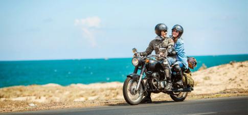 Kinh nghiệm chạy xe máy đường đèo chuẩn nhất