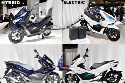 PCX Hybrid 2018/ PCX ELECTRIC 2018 sẽ được tung ra thị trường vào mùa Hè 2018