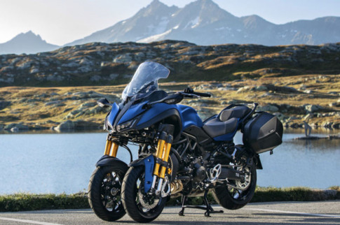Yamaha Niken GT 2019 - môtô 3 bánh độc đáo phiên bản dành cho 'Phượt thủ'