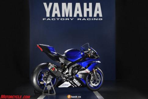 Yamaha R6 2017 phiên bản đua mới nhất tại giải World Super Sport