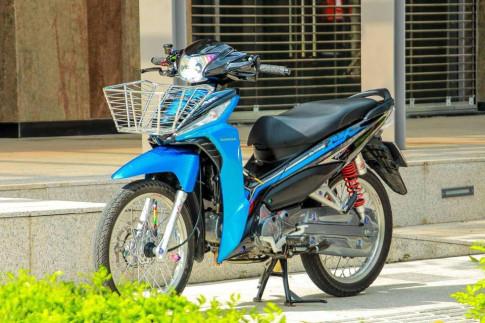 Honda Wave RSX trong bản độ khác biệt của dân chơi Việt