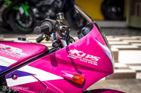 Kawasaki Kips 150 độ: chú báo hồng mang hơi thở 2 thì sống dậy trên đất Thái