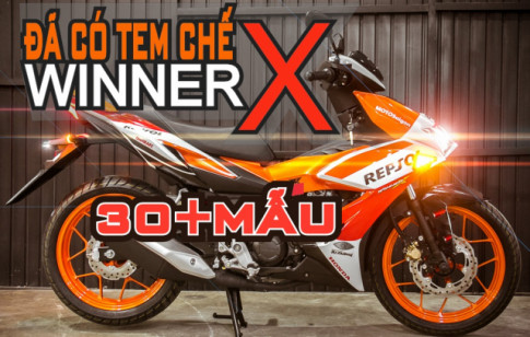 Tem Chế Winner X 2019 - Chọn Tem Theo Cavet Không Sợ Bị Phạt/ SaiGonWRAP