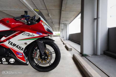 Yamaha R15 độ mang option đồ chơi đậm chất thể thao của biker Thái