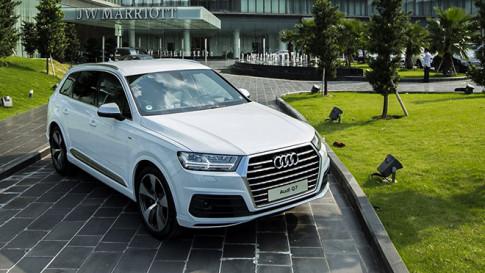 Audi Việt Nam triệu hồi dòng Q7 để kiểm tra chi tiết hệ thống lái