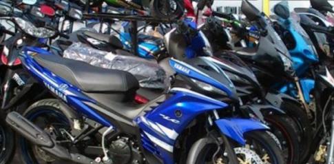Đối tượng chạy xe Suzuki Sport với số khung số máy giả bị bắt