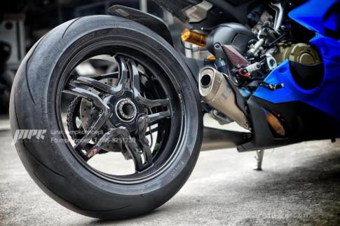 Ducati Panigale V4S New Blue độ độc nhất từ trước đến nay