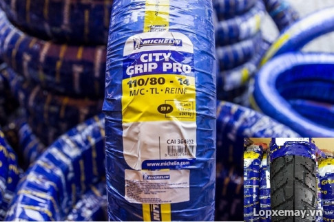 Lốp Michelin City Grip Pro 110/80-14 cho PCX, NVX