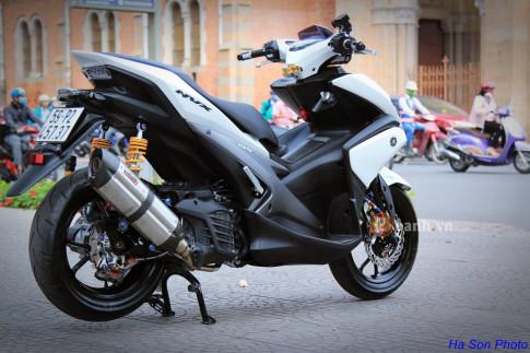 Siêu phẩm Yamaha NVX độ khủng của dân chơi Việt