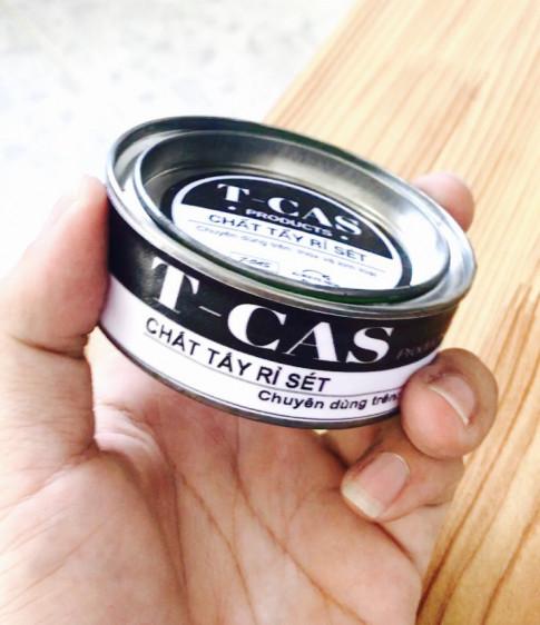 T-CAS: Chất tẩy rỉ sét và đánh bóng inox - kim loại cực kỳ hiệu quả,là cách tẩy rỉ sét đơn giản nhất