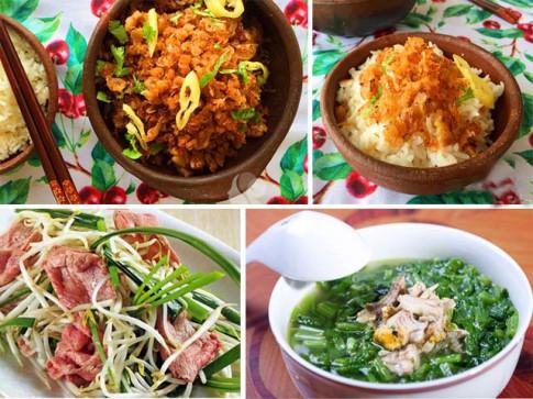Thực đơn 3 món giản dị mà ngon cho ngày lười vào bếp