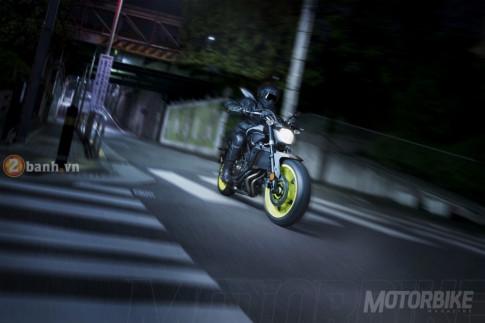 Yamaha MT-07 2017 chính thức ra mắt với 4 sắc màu mới