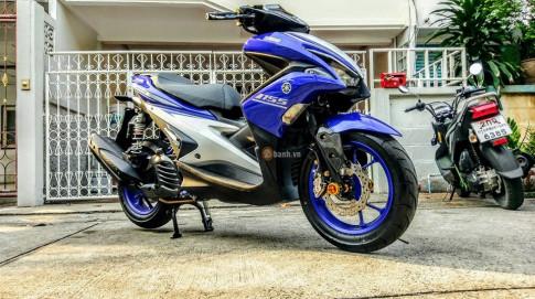 Yamaha NVX đầy cá tính và chất chơi từ dân chơi Thái