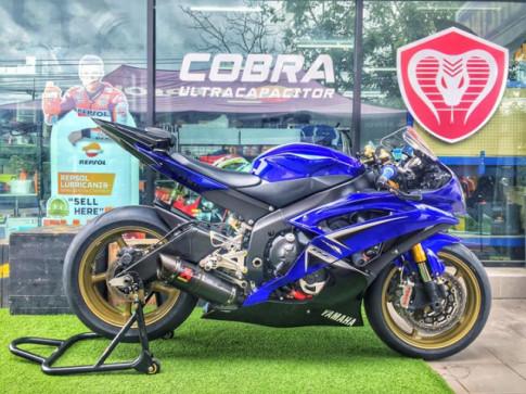 Yamaha R6 Ngựa hoang máu lửa với bản nâng cấp tinh tế
