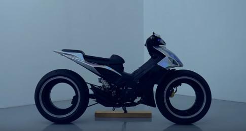 CLIP: Demak Evo ZR 110 độ Hubless Wheel lăn bánh ngoài phố cực đỉnh