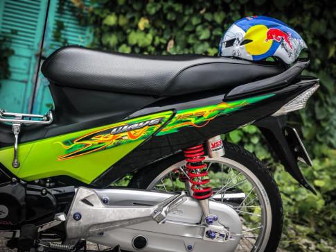 Future 125 độ táo bạo với phong cách Thailand được tái hiện trên đất Việt