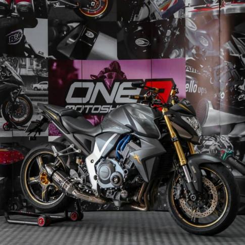 Honda CB1000R độ - Huyền thoại làng Nakedbike đẹp lừng lẫy với dàn chân Carbon