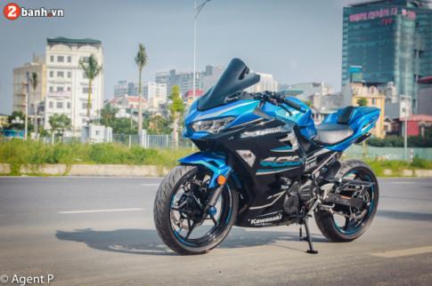 Kawasaki Ninja 400 độ làm người xem choáng ngợp với dàn trang bị khủng