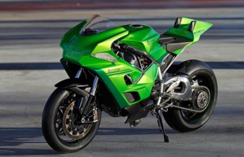 Kawasaki Ninja H2 lột xác không tưởng với diện mạo mới độc nhất vô nhị