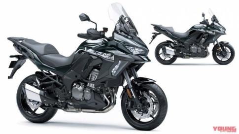 Kawasaki Versys 1000SE 2020 bổ sung diện mạo mới và màu sơn tự phục hồi