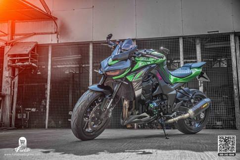Kawasaki Z1000 độ gây mê người xem từ gói nâng cấp SIÊU KHỦNG