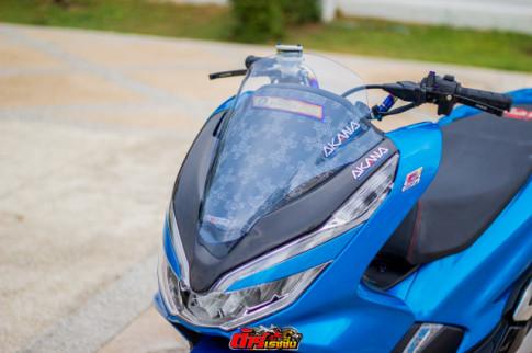 PCX 150 độ dàn chân đẹp 'ướt át' của biker đến từ xứ Chùa Vàng
