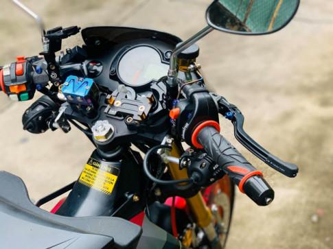 Raider 150 phiên bản xăng cơ gây ấn tượng với dàn chân Upside down cực đẹp