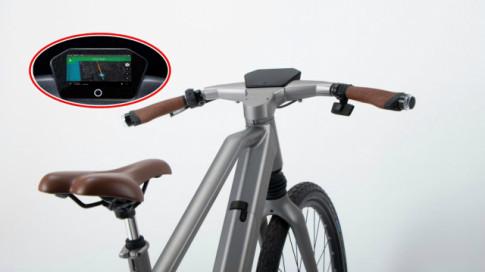 Xe đạp Calamus với tính năng 'cảnh báo điểm mù' khi tham gia giao thông