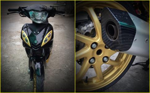Exciter 2010 độ gắp NSR 150 đầy cơ bắp của biker Việt
