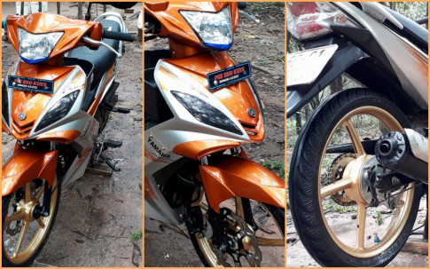 Exciter 2010 độ kiểng nhẹ nhàng đầy nổi bật của biker Đồng Nai
