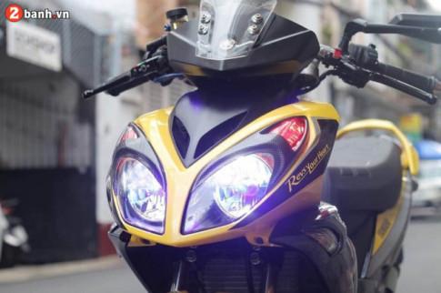 Siêu phẩm Yamaha X1R độ cực đẹp thuộc sở hữu của tay chơi xe Sài Gòn
