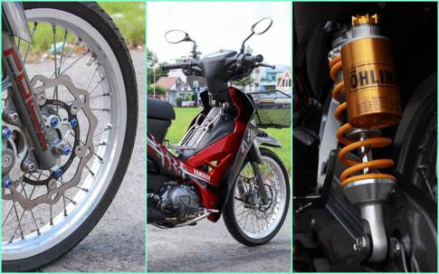 Sirius 110 độ nhẹ nhàng với nhiều đồ chơi kiểng của biker Bình Phước