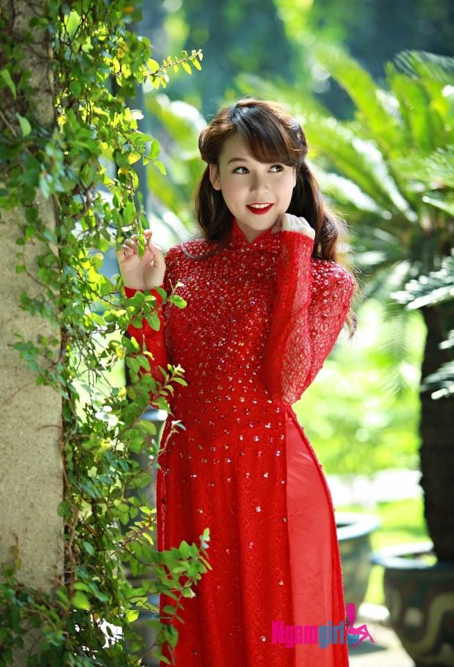 Ảnh áo dài nữ sinh Việt Nam