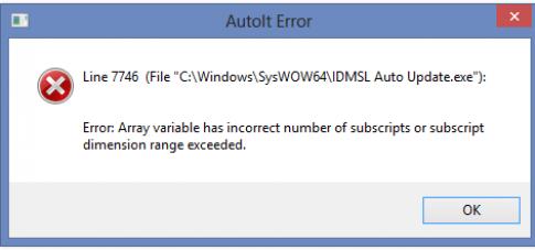 Khắc phục lỗi IDMSL auto update.exe khi cài IDM Silent